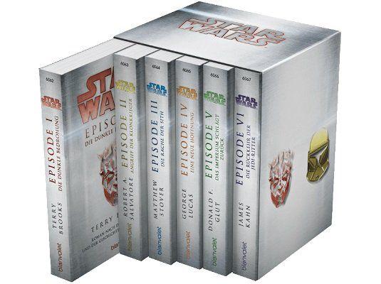 Star War Episoden I VI Taschenbuch für 19,99€ (statt 25€)