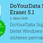 DoYourData Super Eraser 5.1 (Vollversion, Windows) kostenlos