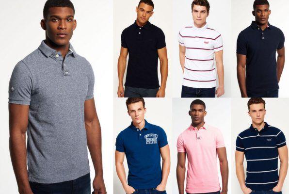 Superdry Herren Poloshirts versch. Modelle und Farben bis 2XL für je 24,95€