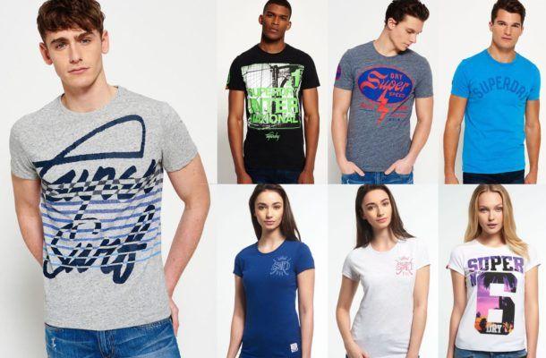 Superdry Damen und Herren T Shirts   59 Modelle bis XXL für je 13,95€