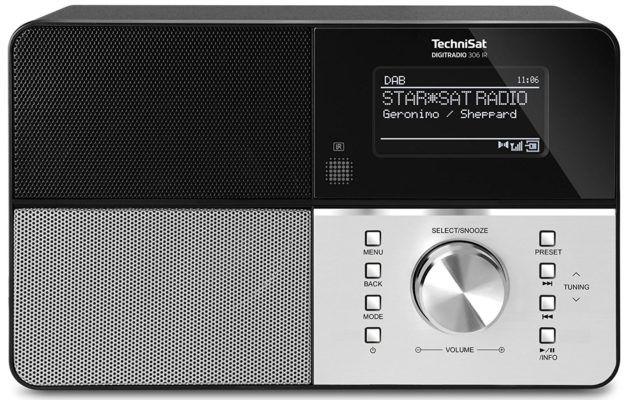 TechniSat DIGITRADIO 306 IR   UKW  Radio mit DAB+ und IP Multiroom Streaming für 99,99€ (statt 154€)