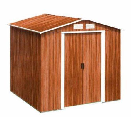 Tepro Riverton 6 x 6 (201 x 182 cm) Gartenhaus in Holzoptik für 388€