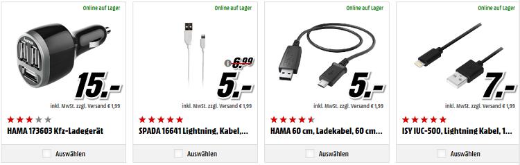 Media Markt   Staffelrabatt auf ausgewähltes Smartphone Zubehör, Wearables, Powerbanks