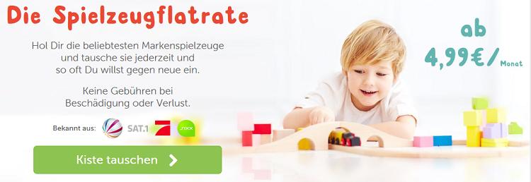 Spielzeugflatrate   Spielzeug ausleihen: 2 Monate lang gratis