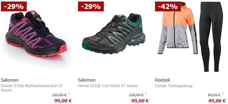 Karstadt Sonntags Kracher mit 20% Rabatt auf Sportkleidung Kleidung und Schmuck