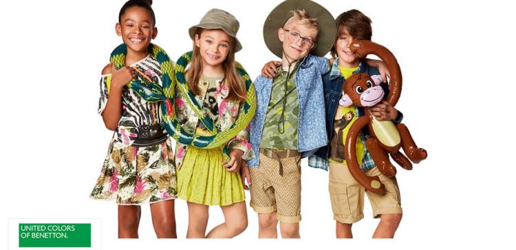 United Colors of Benetton Kinder Sale bei Vente Privee   z.B. Leggings ab 3,90€