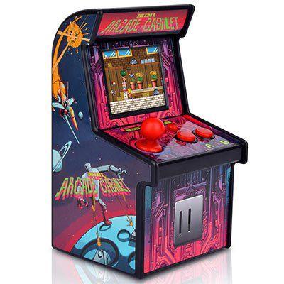 Retro Mini Arcade Spielautomat mit 200 Spielen für 13,32€