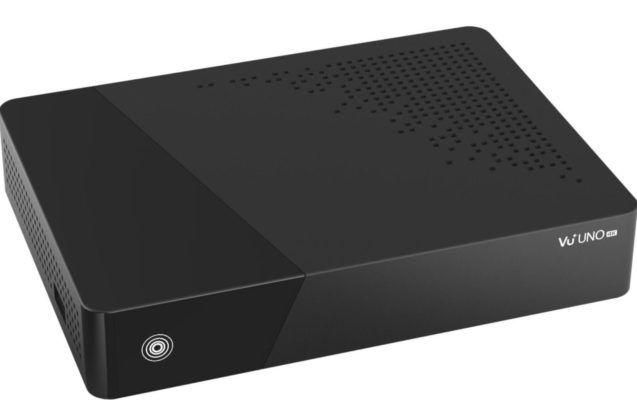 Vu+ Uno 4K Satelliten DVB S2 FBC Twin Tuner mit PVR für 179,90€ (statt 212€)
