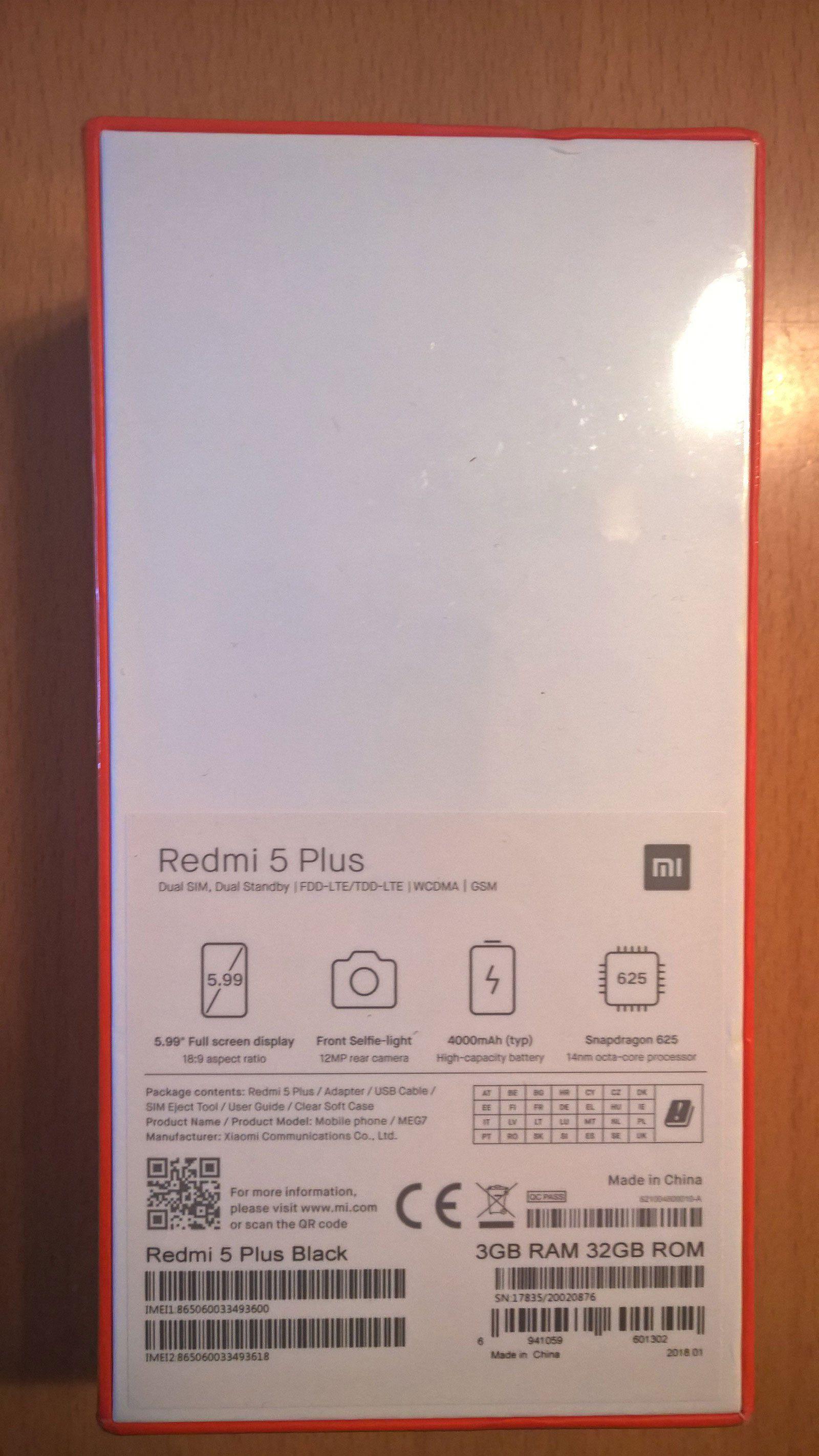 Redmi 5 Plus im Test