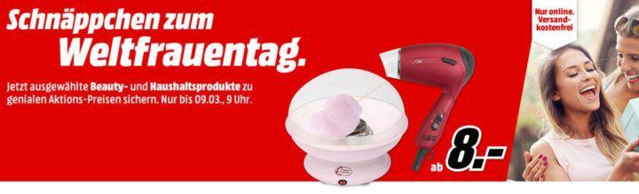 MM Schnäppchen zum Weltfrauentag: z.B. ORAL B Bonuspack PRO + 2. Handstück Elektrische Zahnbürsten für 44€