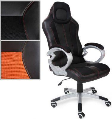 XXL Racing Büro  u. Gamingstuhl   Höhen u. Kipp Verstellbar für 79,95€