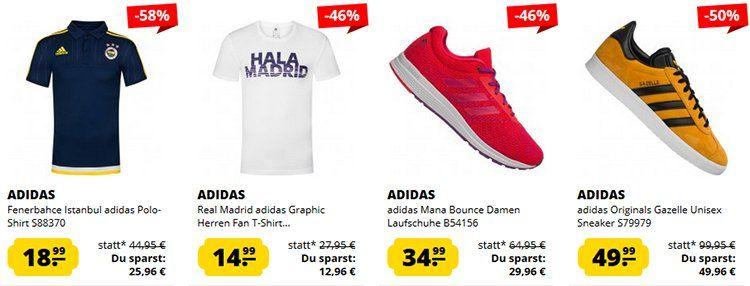 adidas Sale bei SportSpar + 5€ Gutschein ab 50€   z.B. adidas Derrick Rose 7 Primeknit für 74,99€ (statt 90€)