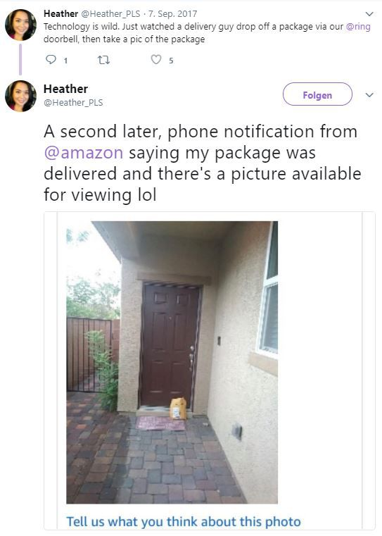 NEWS: Amazon Logistics Photo On Delivery   Durch Fotos Diebstahl vermeiden
