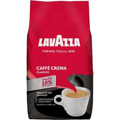 Lavazza Cafe Crema Classico 1kg + 10% mehr Inhalt für 9,90€ (statt 15€)