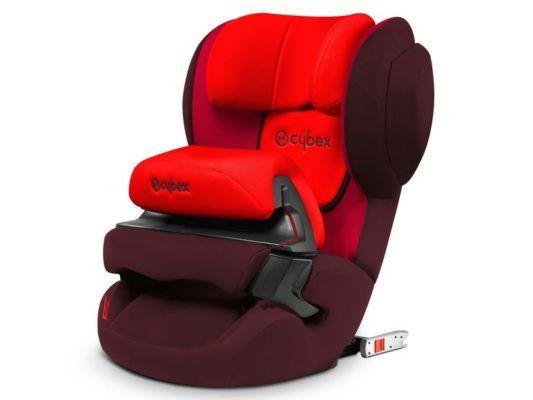 Cybex Juno Fix (Rumba Red) Kindersitz für 123,95€ (statt 150€)