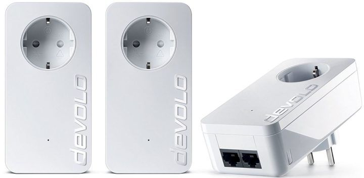 devolo dLAN 550 duo+ 3 Powerlan Adapter (max. 500 Mbit/s) für nur 62,32€ (statt 94€)