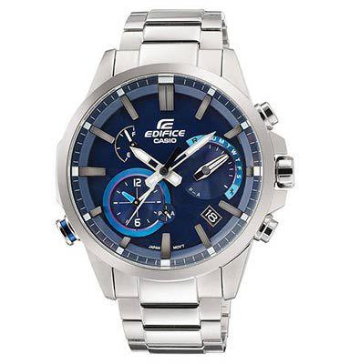 CASIO EDIFICE EQB 700D 2AER   Herrenuhr mit Bluetooth (Solaruhr, Chronograph) für 169,99€ (statt 240€)