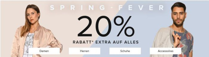 20% Extra Rabatt bei dress for less auch im 75% Sale + weitere 10% per Gutschein + VSK frei
