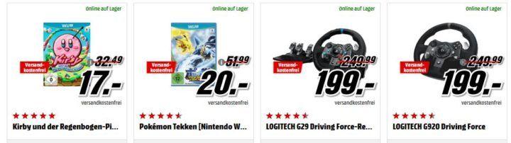 MM Gönn dir Ostern: günstige Spiele, Filme & Co.   z.B. NINTENDO Switch Pro Controller + The Legend of Zelda: Breath of the Wild für 79€