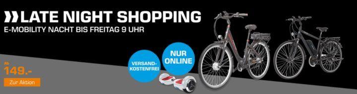 SATURN e Mobility Nacht: z.B. FISCHER CITY 28 eCitybike für 999€ (statt 1.299€)