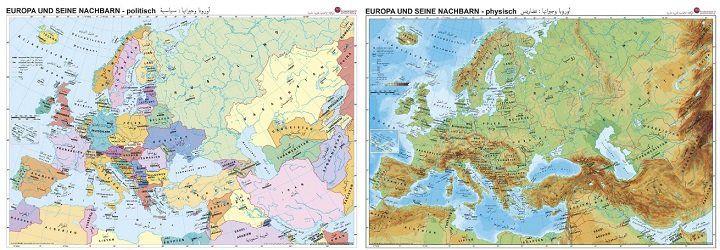 Verschiedene Landkarten kostenlos anfordern