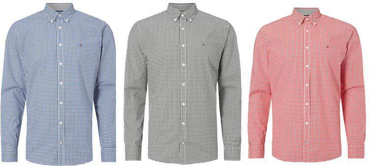 Tommy Hilfiger New York Fit Freizeithemd für 39,99€ (statt: 54€)