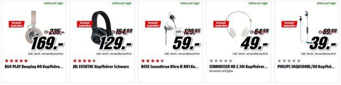 Media Markt Kopfhörer Preishammer: z.B SONY MDR ZX770BNL Noise Cancelling für 75€ (statt 135€)