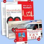 Herznotfall-Set der Deutschen Herzstiftung komplett kostenlos