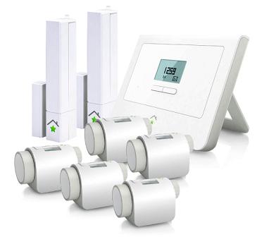 innogy SmartHome Paket Heizungssteuerung + Tür  & Fenstersensoren für 229,95€ (statt 273€)