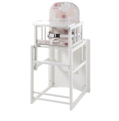 Poco: Kinderhochstuhl Kilan in Weiß ab 29,99€ (statt 53€)