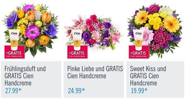 Lidl Blumen: Blumensträuße zum Weltfrauentag inkl. gratis Vase ab 17,99€