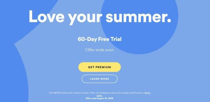 60 Tage Spotify Premium für Neukunden gratis
