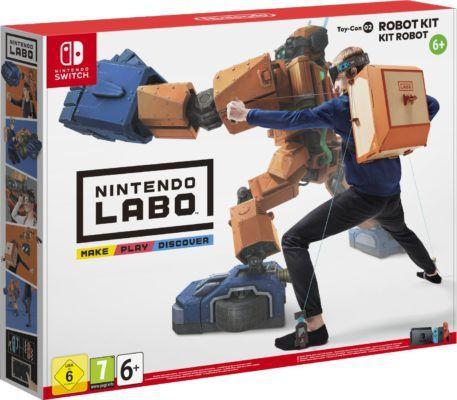 Nintendo Labo: Toy Con 02 Robo Set für 49,90€ (statt 74€)   Vorbestellung