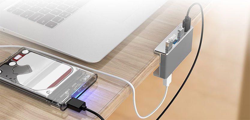 ORICO MH4PU   4 Port USB 3.0 Hub für 8,59€