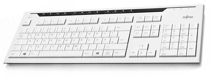 Fujitsu KB520   kabelgebundene Tastatur für 9,99€ (statt 17€)