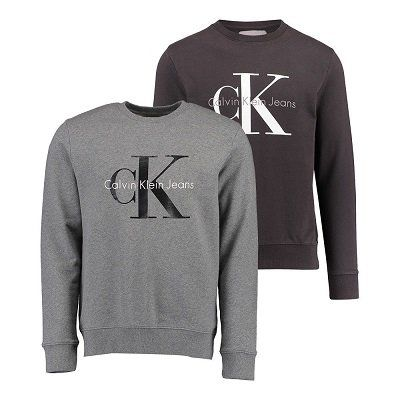 Calvin Klein Herren Pullover Sweatshirt CN für 43,80€ (statt 70€)