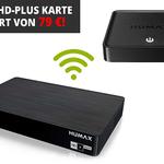 HUMAX Digital HD FOX IP Connect Twin SAT IP Receiver + HUMAX H1 Streamer für 169,99€
