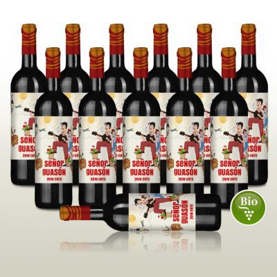 12 Fl. Rotwein   Senor Guason Tinto 2016 für 42,90€