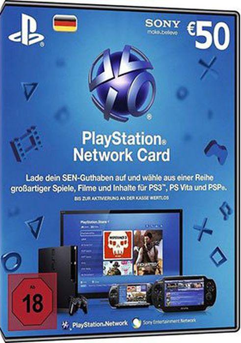 50€ Sony PSN Guthaben für 38,94€