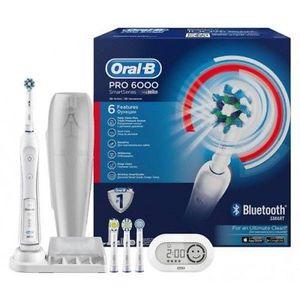 Braun Oral B Pro 6000 Zahnbürste mit Bluetooth für 88€ (statt 125€)