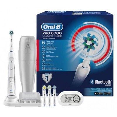 Braun Oral B Pro 6000 Zahnbürste mit Bluetooth für 67,90€ (statt 94€)