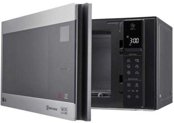 LG Electronics MS 2595 CIS  25l Mikrowelle für nur 125,99€ (statt 156€)