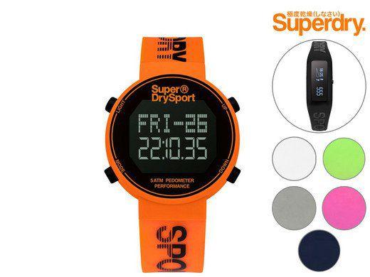 Superdry Uhren und Activity Tracker für je 35,90€