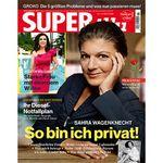 20 Ausgaben Superillu für 38€ inkl. 30€ Verrechnungsscheck