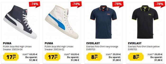 SportSpar Ultimate Sale Restposten   z.B. EVERLAST Hoodies ab 18,99€
