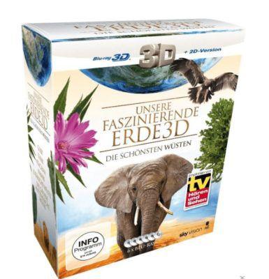 Unsere faszinierende Erde   Die schönsten Wüsten 3D + 2D Blu rays ab 6,99€