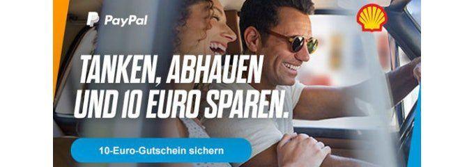 10€ Paypal Gutschein für Tankfüllung bei Shell