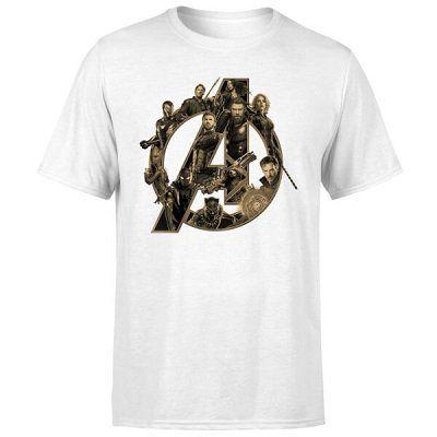 Marvel Avengers Infinity War Avengers Logo T Shirt für 10,99€ (statt 17€)