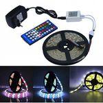 Jiawen 5m RGBW LED-Streifen mit Fernbedienung & Netzteil für 10,34€
