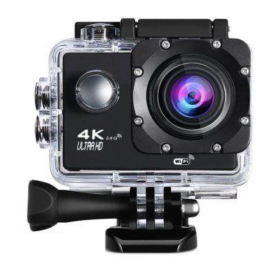 4K WiFi 2.4G Ultra HD Action Cam für 27,21€